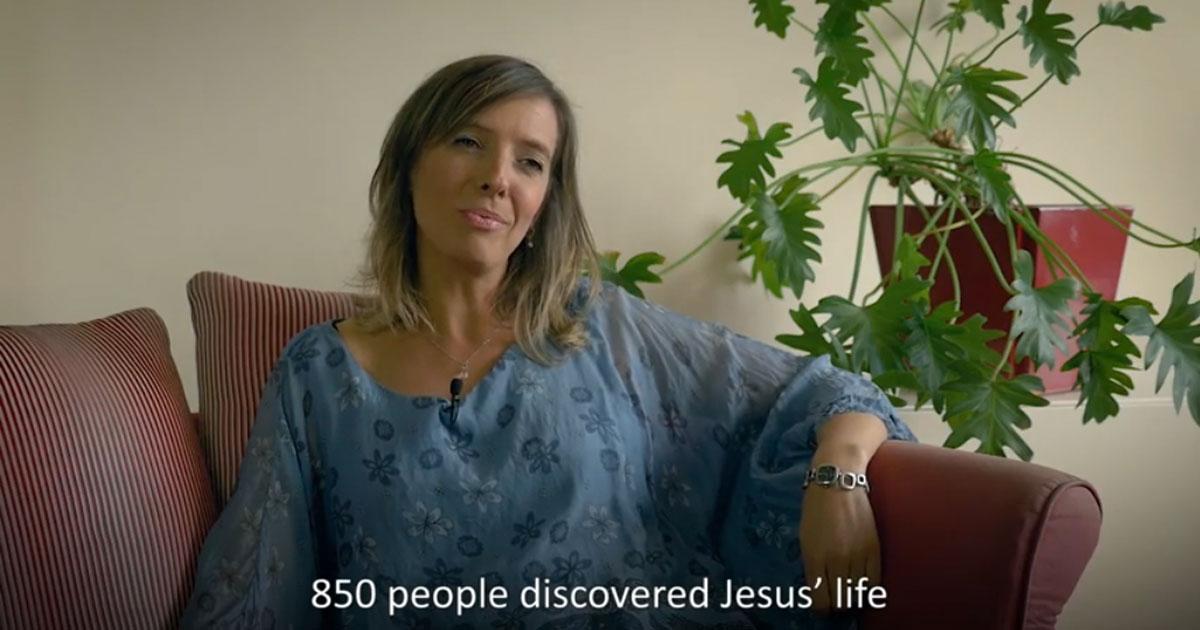 Jesús, el regalo de una vida: Llevar el mensaje más allá del escenario