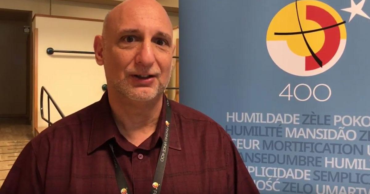 """El padre Joseph Agostino CM describe el festival de cine """"Encontrando a Vicente 400"""""""