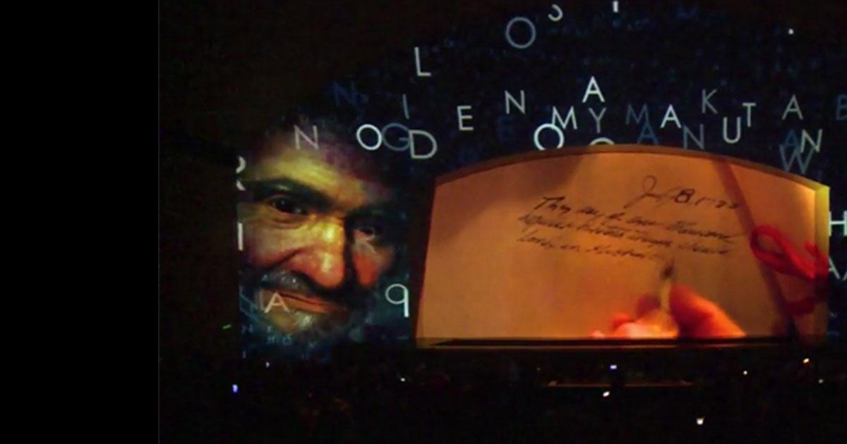 """""""Encontrando a Vicente 400"""", desde el Auditorium Conciliazione"""