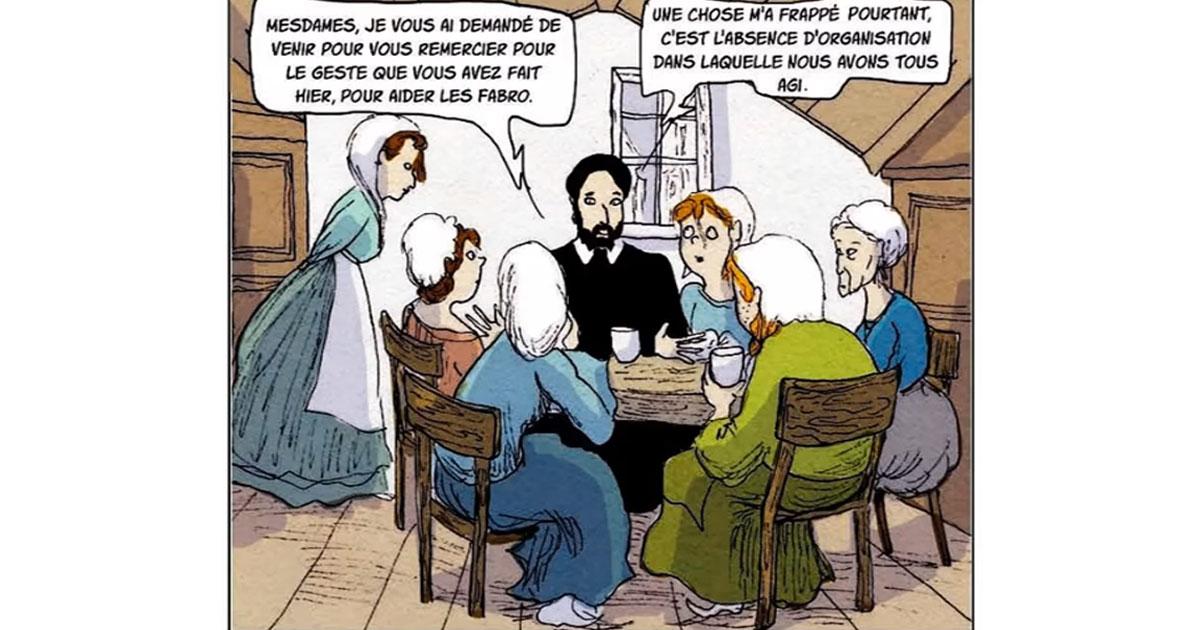A história da AIC na França, contada aos jovens