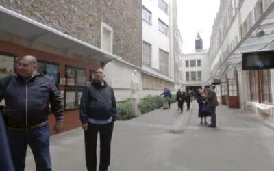 Reflective presentation of the DC and CM Motherhouse Chapels, Paris