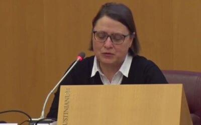 Sr. Blandine Klein, SC: What Have We Heard? What Must We Do?